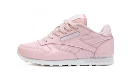 Reebok Classic Light Pink Leather розовые кожаные