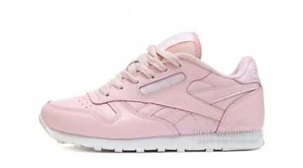 Classic КРОССОВКИ ЖЕНСКИЕ<br/> REEBOK CLASSIC LIGHT PINK LEATHER