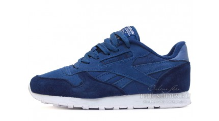 Reebok Classic Double Blue White