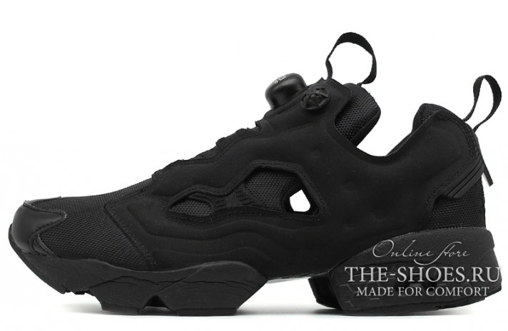 Reebok Insta pump Fury Black Full черные