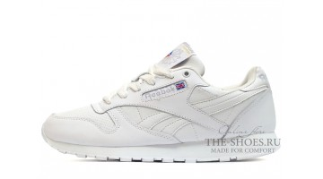 Кроссовки женские Reebok Classic White Winter Leather