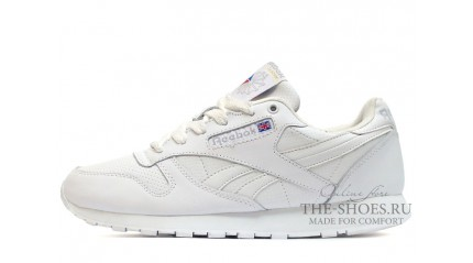 Classic КРОССОВКИ МУЖСКИЕ<br/> REEBOK CLASSIC WHITE WINTER LEATHER