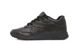 Reebok Ventilator leather black classic черные кожаные