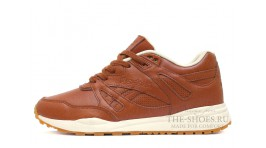 Reebok Ventilator Re-Upholstered toffee Brown коричневые кожаные