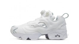 Reebok Insta pump Fury Pure White белые