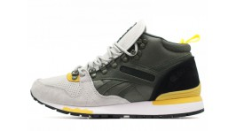 Reebok GL 6000 Mid Green Gray Yellow зеленые серые