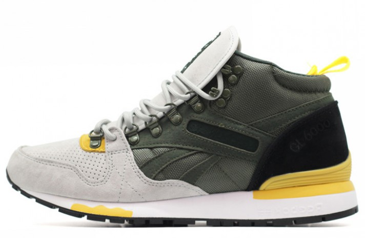 f22894ec82cd Купить Reebok GL 6000 Mid Green Gray Yellow - зеленые   серые