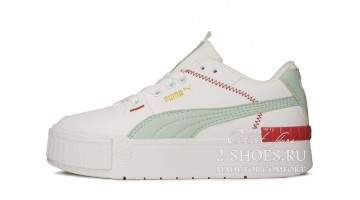 Кроссовки женские Puma Cali Sport Mix White Mint Red