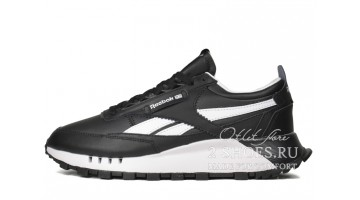 Кроссовки Мужские Reebok Classic Leather Legacy Black White