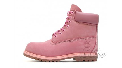 Classic БОТИНКИ ЖЕНСКИЕ<br/> TIMBERLAND 6-INCH BABY PINK