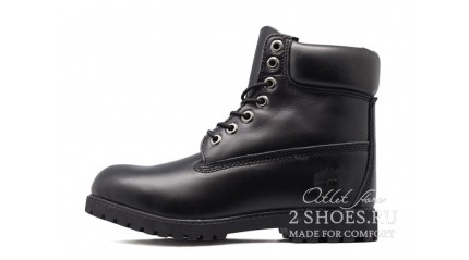 Timberland БОТИНКИ ЖЕНСКИЕ<br/> TIMBERLAND 6-INCH BLACK LEATHER