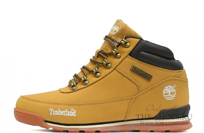 Timberland euro sprint yellow bright желтые