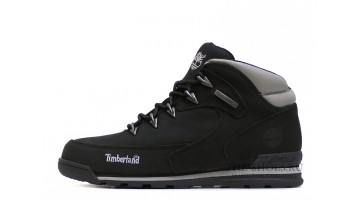 Ботинки женские Timberland euro sprint Black Gray