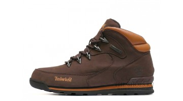 Ботинки женские Timberland euro sprint dark brown