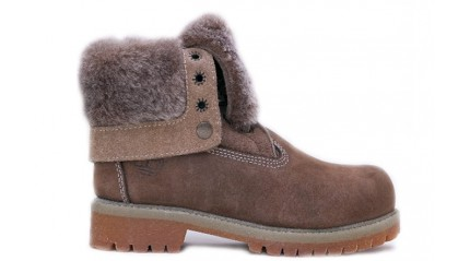 Classic БОТИНКИ ЖЕНСКИЕ<br/> TIMBERLAND TEDDY ALBINA GRIZZLY BROWN