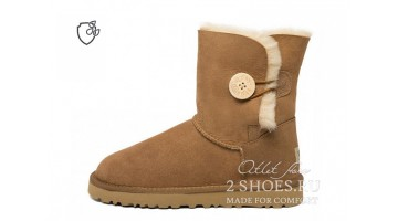 Угги женские Ugg Australia Bailey Button II Chestnut