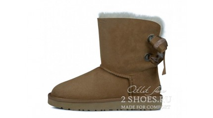 короткие с лентами Ugg Australia Bailey Bow Short Customizable Chestnut