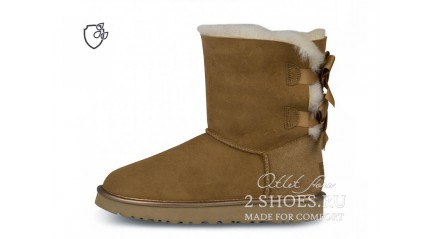 короткие с лентами Ugg Australia Bailey Bow Short II Chestnut