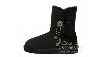 Угги женские Ugg Australia Bailey Button Azalea Black