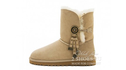 короткие с пуговицей Ugg Australia Bailey Button Azalea Sand