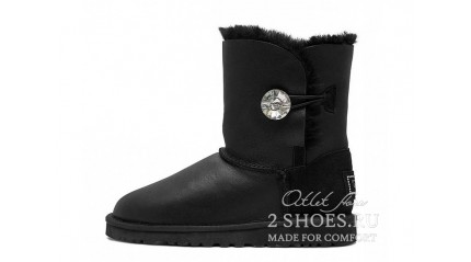 короткие с пуговицей Ugg Australia Bailey Button Short Bling Metallic Black