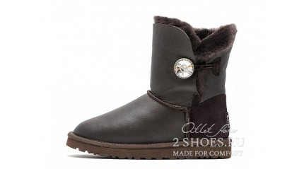 короткие с пуговицей Ugg Australia Bailey Button Short Bling Metallic Chocolate