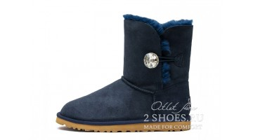 Угги женские Ugg Australia Bailey Button Bling Navy