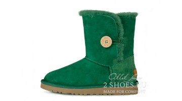Угги женские Ugg Australia Bailey Button Green