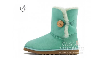короткие с пуговицей Ugg Australia Bailey Button II Short Aqua Mint