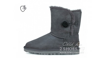 короткие с пуговицей Ugg Australia Bailey Button II Short Gray