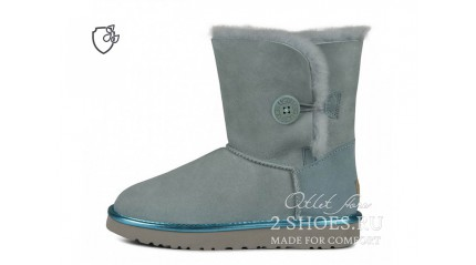 короткие с пуговицей Ugg Australia Bailey Button II Short Iceberg