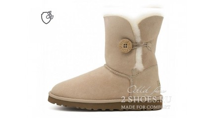 короткие с пуговицей Ugg Australia Bailey Button II Short Sand