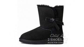 Угги женские Ugg Australia Bailey Button Knott Black