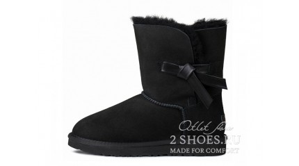 короткие с пуговицей Ugg Australia Bailey Button Short Knott Black