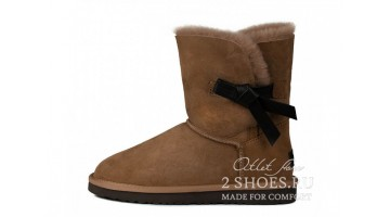 Угги женские Ugg Australia Bailey Button Knott Chestnut