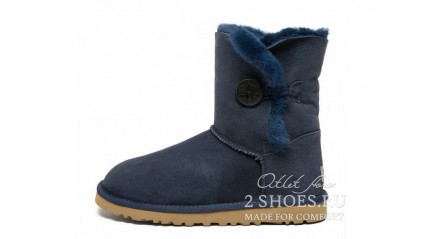 короткие с пуговицей Ugg Australia Bailey Button Short Navy