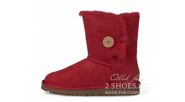 Угги женские Ugg Australia Bailey Button Tomato