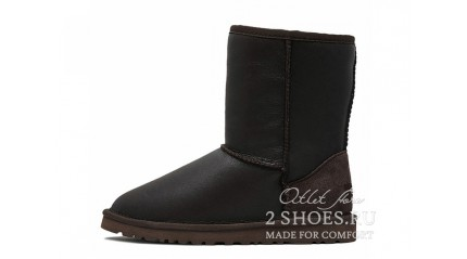 короткие Ugg Australia Classic Short Metallic Chocolate