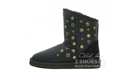 короткие джимми чу Ugg Australia Jimmy Choo Short Starlit Metallic Chocolate