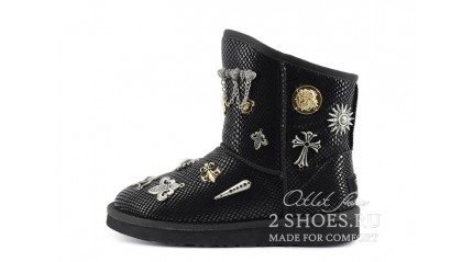 короткие джимми чу Ugg Australia Jimmy Choo Short Multisign Black