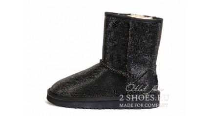 короткие джимми чу Ugg Australia Jimmy Choo Short Serein Black