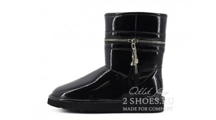 короткие джимми чу Ugg Australia Jimmy Choo Short Zipper Black