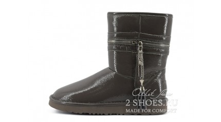 короткие джимми чу Ugg Australia Jimmy Choo Short Zipper Gray