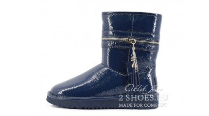 короткие джимми чу Ugg Australia Jimmy Choo Short Zipper Navy
