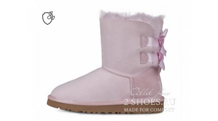 короткие с лентами Ugg Australia Bailey Bow Short II Seashel Purple