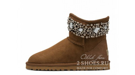 мини джимми чу Ugg Australia Jimmy Choo Mini Multicrystal Chestnut