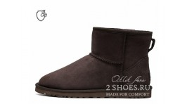 Мини Ugg Australia Classic Mini II Chocolate коричневые