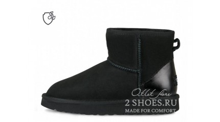 мини Ugg Australia Classic Mini II Metallic Black
