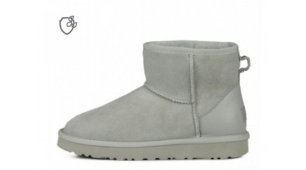 мини Ugg Australia Classic Mini II Metallic Gray