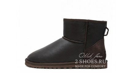 мини Ugg Australia Classic Mini Metallic Chocolate